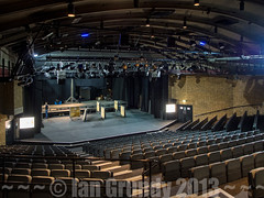 Mermaid 7157 (stagedoor) Tags: uk england copyright building london architecture teatro theater theatre stage olympus inside mermaid seating stalls cityoflondon greaterlondon em5 puddledock bernardmiles elidirdavies