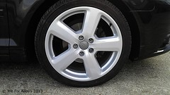 "Audi alloy wheel repair We Fix Alloys • <a style=""font-size:0.8em;"" href=""http://www.flickr.com/photos/75836697@N06/10378830393/"" target=""_blank"">View on Flickr</a>"