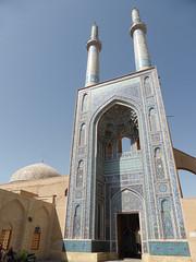 Jame-e Kabir Mosque (marc's pics&photos) Tags: persian desert iran muslim islam religion middleeast persia mosque shia iranian yazd shiite monotheism persianarchitecture iranianislam