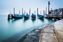 Venice morning (martinzorn) Tags: italien venice italy water fog europa europe nebel boote gondola venezia venedig gondeln
