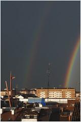 doble arco iris desde mi terraza (eredita) Tags: araba doblearcoiris fernangasteiz