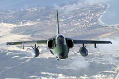 FAB4120_A-1MAMX_BrazilianAF_A2A (Tony Osborne - Rotorfocus) Tags: brazil natal force exercise air flight brazilian amx striker embraer a1m 2013 cruzex