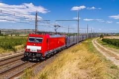 DB (evarujo) Tags: france train tren nissan rail db bombardier traxx sigma2470f28 canoneos7d peries e186323