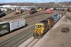 RRVW 2053 at St. Paul, MN (nsmith8853- I'm tired of shootings GE's!) Tags: railroad minnesota st train paul railway trains midway mn railfan tcw tcwr rrvw gp20c