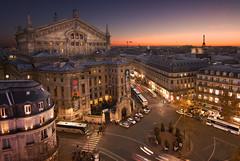 Opera Garnier_Paris (Benadventure) Tags: sunset sky paris rooftop night canon opera wideangle tokina 7d opra garnier blending digitalblending 1116mm