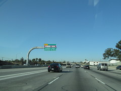 Interstate 110 - California (Dougtone) Tags: california road sign la losangeles highway route freeway shield interstate expressway i110 interstate110 the110