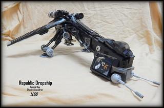 A Custom Black Rep Dropship