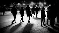 Time Slice ~ Paris ~ MjYj (MjYj) Tags: world sunset urban woman man motion black paris love night contrast dark soleil couple pretty solitude noir time library femme yeux national romantic eden temps reflets ville slices homme passant encounters espoir dsc01464 mjyj mjyj