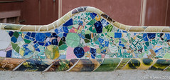 Not an everyday Park Bench (keithhull) Tags: barcelona spain catalonia historic gaudi catalunya parcguell