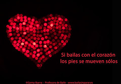 Si bailas con el corazón, los pies se mueven solos