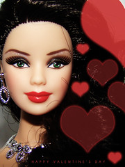 Valentine's Day (ThePictureTaker2010) Tags: barbie mackie redlips exclusive valentinesday kmart bobmackie modelmuse holiday2012