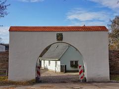 Museumskomplex Saigerhütte XV (Mike Bonitz) Tags: museum architecture germany deutschland memorial saxony sachsen architektur portal tor denkmal erzgebirge olbernhau saigerhütte