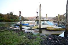 Boats at Narrow Water (Dave-Mcclean 67) Tags: castle water river boats canal tide mooring moor narrow newry