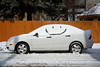 All Smiles (Andy Marfia) Tags: winter snow chicago smile face car iso200 spring smiley andersonville f8 11600sec d7100 1685mm