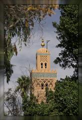 Minaret of the Koutoubia mosque (Ciao Anita!) Tags: friends tower torre toren minaret mosque morocco marrakesh hm marokko moschea moskee theperfectphotographer marrakechtensiftalhaouz fotoworkshopnl minarato
