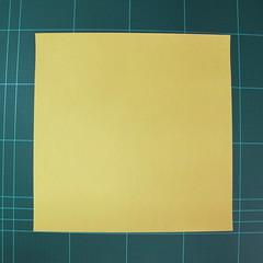 วิธีการพับกระดาษรูปม้าน้ำ (Origami Seahorse) 001