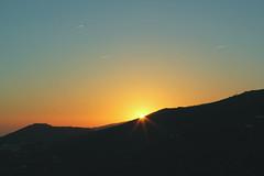 (Cris Martn) Tags: sunset coast spain range lanscape