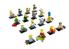 LEGO Collectable Minifigures - Simpsons (Lima-46) Tags: lego simpsons collectable 2014 minifigures