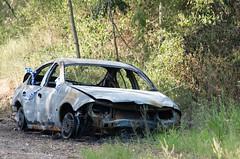 Burnt Out (jezza323) Tags: ford ex car fire pentax au sigma australia apo burnt ii falcon qld queensland ipswich dg k5 70200mm sigma70200mmf28 hsm sigma70200mm pentaxk5 k5ii pentaxk5ii sigma70200mmapoexdghsmii