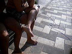 f356287 (DolceaiPiedi) Tags: feet girl foot candid barefoot piedi ragazze amatorial amatoriali