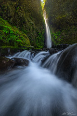Gorge Light (Mark Metternich) Tags: green oregon waterfall waterfalls columbiarivergorge moffett markmetternich wehefalls