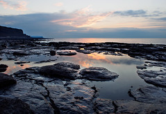 Beach-sunset-pool-E-M5 (alf.branch) Tags: sunset sea seascape reflection water rock landscape seaside rocks olympus rockpool refelections calmwater olympusomdem5 zuiko1442f3556ez
