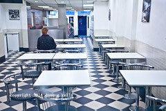 Table For One Please (Dave G Kelly) Tags: ireland people dublin food colour love night restaurant solitude alone loneliness eating fastfood indoors tables lonely valentinesday oneperson