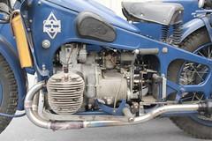 20140322 Avignon Vaucluse - Avignon Motor Festival - Gnome-Rhone AX2 800 cc -(1938)-002 (anhndee) Tags: france frankreich paca moto motorcycle avignon motorbyke vaucluse motorrad provencealpescotedazur motoancienne motosanciennes avignonmotorfestival