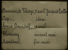 Mysterious Note (annacarvergay) Tags: handwriting french calligraphy namethatfilm unnamed cursive