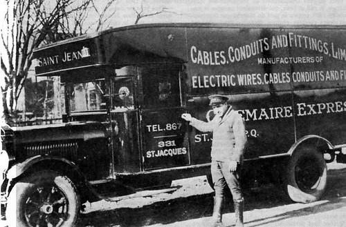 Electric Company Truck / Truck Electric Company