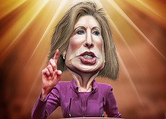 Carly Fiorina - Caricature (DonkeyHotey) Tags: art face photomanipulation photoshop photo hp political politics cartoon manipulation ceo caricature politician republican campaign att karikatur caricatura hewlettpackard commentary lucent politicalart 2016 carlyfiorina karikatuur politicalcommentary donkeyhotey