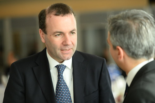 brussels party people european group parliament politcs epp chairman weber manfred 2015