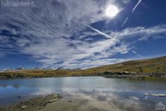 lago Tre Becchi, Tre Becchi lake (paolo.gislimberti) Tags: reflections piemonte riflessi piedmont cloudysky mountainlandscape cielonuvoloso paesaggiodimontagna alpinegrassland prateriaalpina