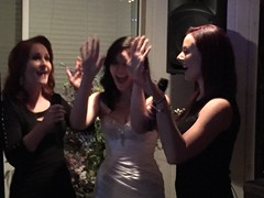 "Bridesmaids and the Bride singing karaoke • <a style=""font-size:0.8em;"" href=""http://www.flickr.com/photos/131449174@N04/16575757912/"" target=""_blank"">View on Flickr</a>"