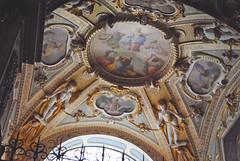 Beauty Above (nicholeotter) Tags: vienna sculpture history church st architecture painting gold austria europe cathedral chapel holy michaels cherubs michaelerplatz michaelerkirche