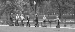 Touring DC On Two Wheels *Explore* (Catskills Photography) Tags: people blackandwhite washingtondc streetphotography segway vehicle streetcandid canong15