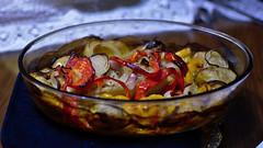 Pronto para degustar (Andr Felipe Carvalho) Tags: pimento vermelho amarelo gastronomia vinho tomate cozinha cebola alho culinria bacalhau fcil