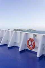 Islands (sequentialogic) Tags: brittany ship bow lifebuoy buoy stmalo brittanyferries mvbretagne