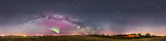 360 Panorama of the Spring Sky (Amazing Sky Photography) Tags: panorama mars field spring farm may sagittarius alberta aurora saturn prairie vega isolated bigdipper 360 lightpollution milkyway scorpius cygnus ptgui arcturus summertriangle ipano darklanes gegenschein ioptron