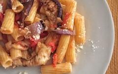 Rigatoni alla norma versione light (RicetteItalia) Tags: light cucina ricette