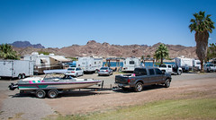 Parker - Memorial Weekend 2016 (exploredesert) Tags: california light summer camp arizona water beer bar river fun boats la boat colorado drinking paz ground az boating float lapaz parker coors roadrunner eliminator 2016
