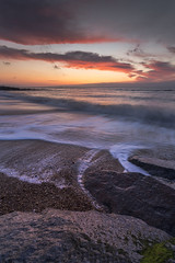 Rock, Beach, Wave (scott.hammond34) Tags: light sky seascape beach water canon landscape eos suffolk seaside sand rocks waves outdoor vivid groyne southwold 6d ef1740f4lusm