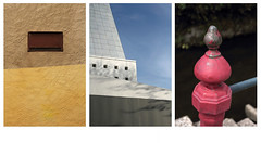 Architriptyque (Steph Blin) Tags: urban 3 france collage trois architecture three image paysage triptyque espace ville auvergne urbain archi btiments thiers