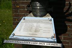 B-17G Memorial, Heemskerk (Sean Anderson Classic Photography) Tags: 50mm dslr f28 heemskerk carlzeissjena carlzeisstessar tessar50mmf28 sonya700 b17gmemorial