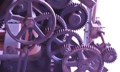 Jacquard Loom Gears (jaysmom1361) Tags: weaving looms jacquard westinghouseloom