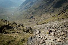 Lake District (05/16) 31 (Velo Freedom) Tags: rock pillar lakedistrict rocky scree steep crag windgap