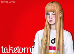 05/06/2016 - Taylor (taketomi//Burley Group) Tags: fashion hair style secondlife kawaii salon taketomi gyaru