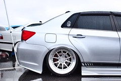 Fitment (AmazingFlavaPhotos) Tags: cars photography wheels daily clean subaru wrx sti forged jdm subie ccw bagged fitment baggit jdmdaily subieflow