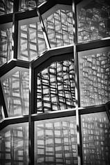 Harpa B&W (Melissa 97910313) Tags: architecture iceland patterns reykjavik geometrical concerthall harpa