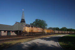 53542 (richiekennedy56) Tags: usa lawrence unitedstates kansas unionpacific ac44cw railphotos douglascountyks up6278 up7235 donballcurve